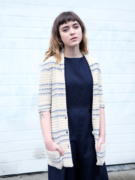 Shop Boswell VINTAGE CACHAREL KNIT CARDIGAN