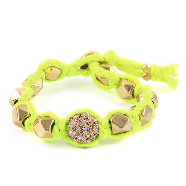 Ettika Faceted Bead Bracelet