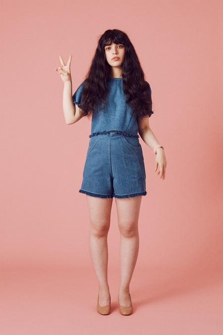 Samantha Pleet Fray Shorts