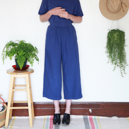 Me & Arrow Wide Pants - Morning Glory Blue