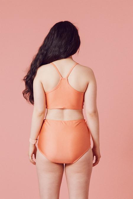 Samantha Pleet Vortex Bikini - Cantaloupe