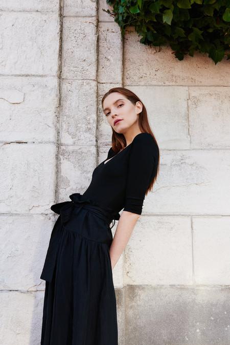 Kamperett Shadow Knit Bodysuit - Black