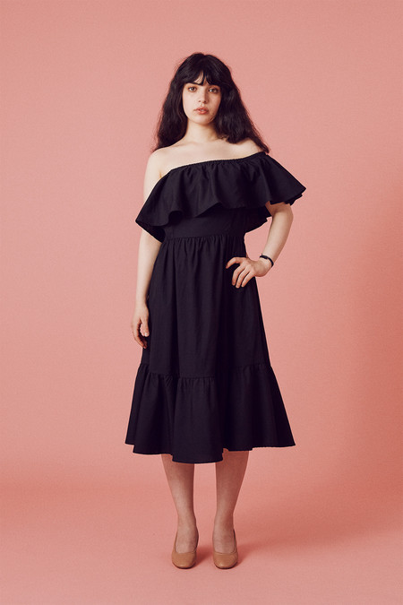 Samantha Pleet Paramour Dress - Black