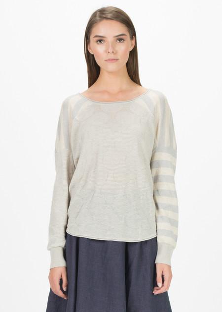Echappees Belles Basile Back-Button Sweater
