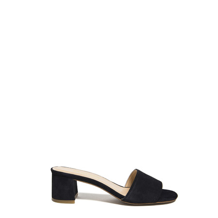 Marias USA Classic Mule in Navy