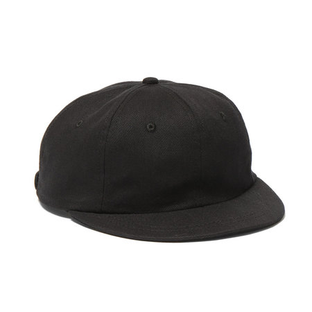 Maple Mesa Cap (Cotton Twill) - Black
