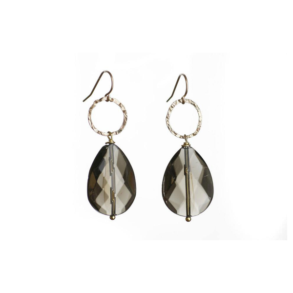 Smokey Quartz Earring