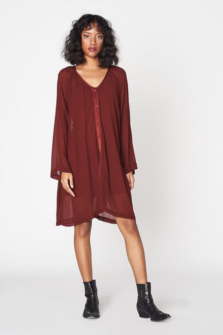 Lacausa Clothing Chiffon Cafe Dress