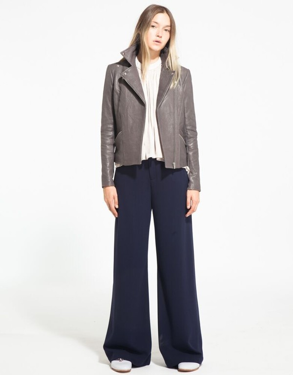 Morgan Carper Aria Shirred Sleeveless Top, Ivory