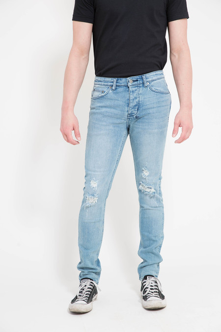Men's Ksubi Chitch Fixed Up Blue