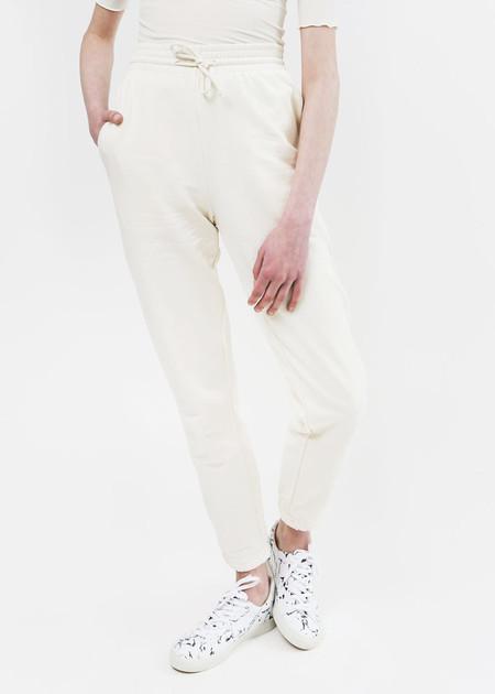 Baserange Off White Sweat Pants