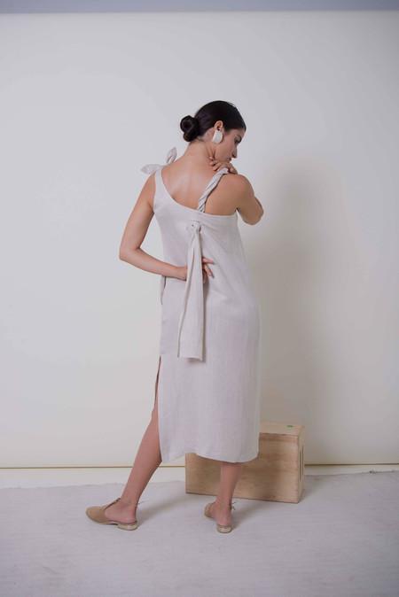 Ajaie Alaie Ray Dress | White Sands