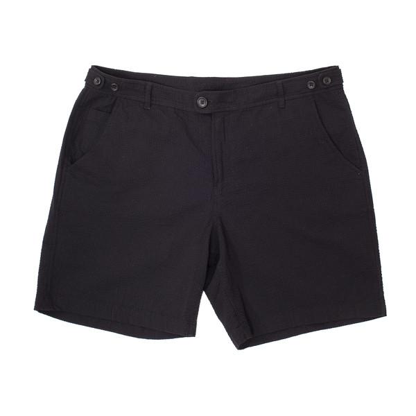 Corridor Seersucker Shorts - Black