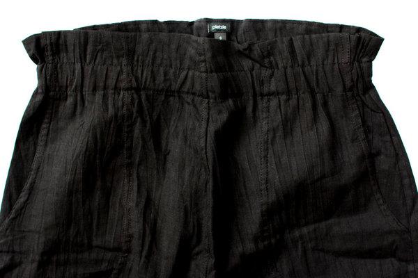 pietsie Fez Trouser in Black Cotton Voile