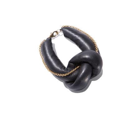 Parme Marin Knot on bracelet chain
