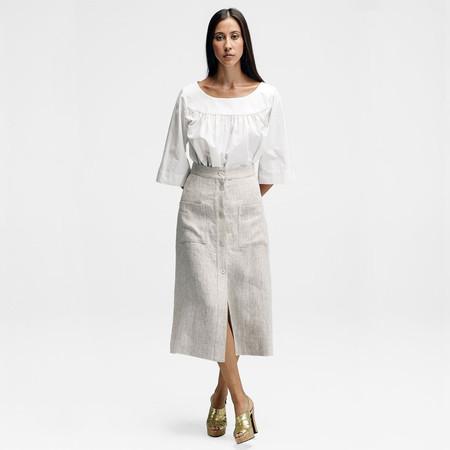 horses atelier linen skirt