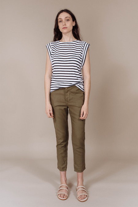 Calder Paolo Tee in Stripes