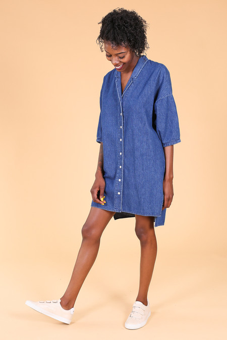 Ilana Kohn Steven Dress In Denim