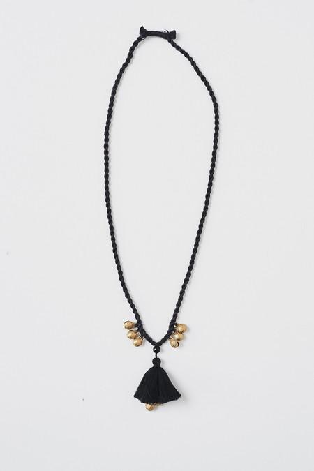 Ora-C Show Necklace - Black
