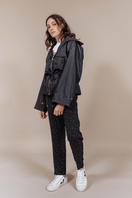 Ganni Greenwood Jacket in Total Eclipse