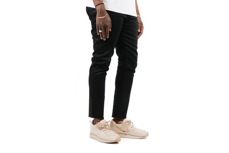 "Stampd Resin Slim Fit Cropped Denim ""Black"""