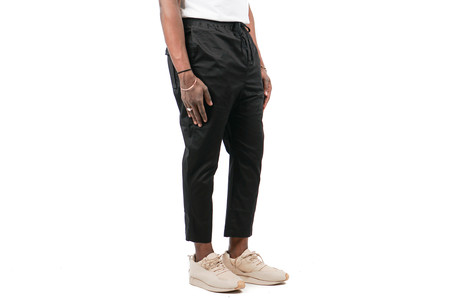 "Stampd Washed Cropped Chino ""Black"""