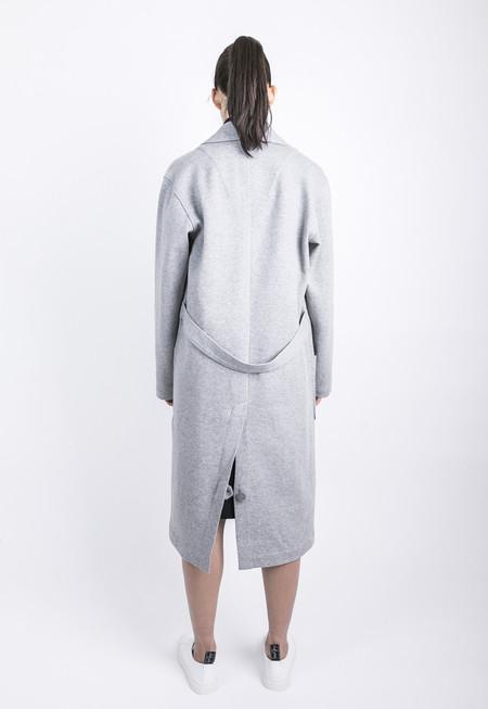 Unisex Tailored Grey Top Coat