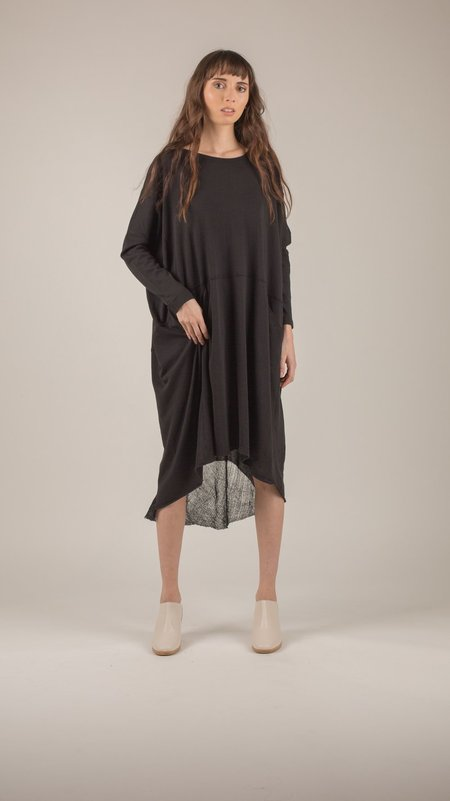 Raquel Allegra - Black Oversized Dress