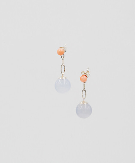 Open House Sterling Silver Spectra Earrings
