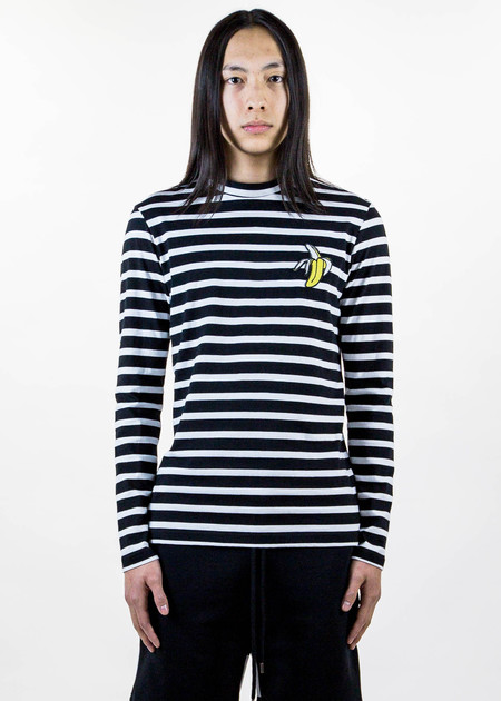 Markus Lupfer Noel Banana Stripe Long Sleeve