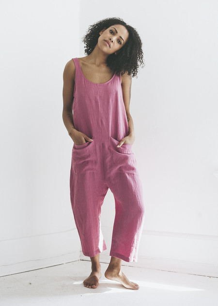 Ilana Kohn Gary Jumpsuit in Rose
