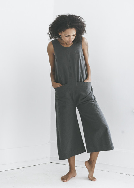 Ilana Kohn Milo Jumpsuit in Graphite