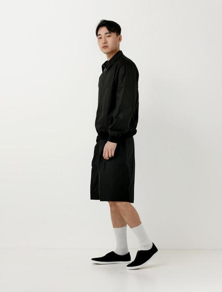 Lemaire Long Shorts Black