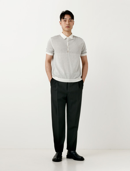 Lemaire One-Pleated Pants Black