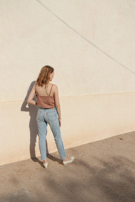 Ozma Camisole in Sand