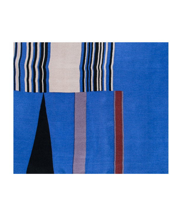 A Peace Treaty Tala 100% Silk Scarf in Blue