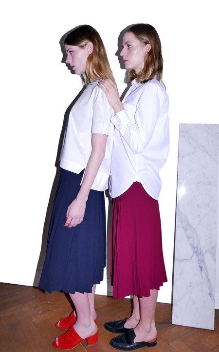 KIMEM Long Pleated Skirt
