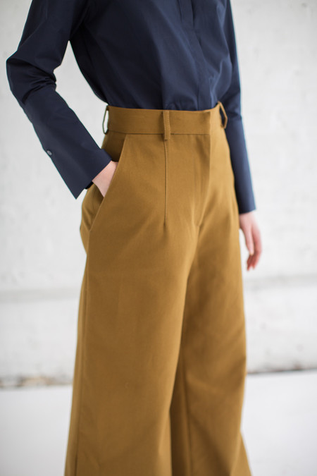 Studio Nicholson Battista Pant in Carob
