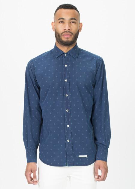 Tintoria Mattei 954 Washed Causal Button-Up Shirt