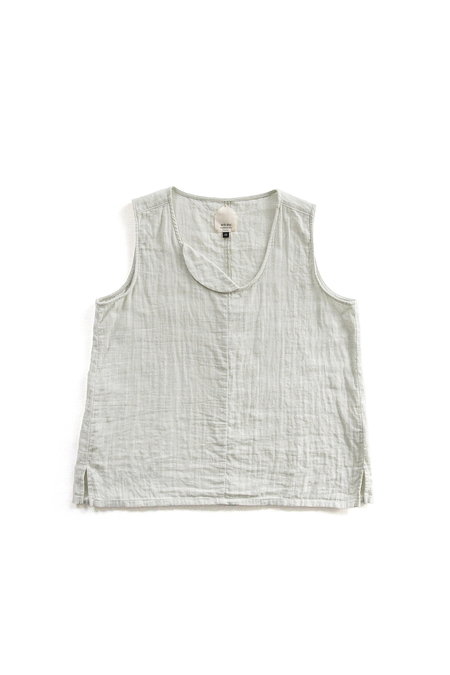 wrk-shp Crest Sleeveless Mint