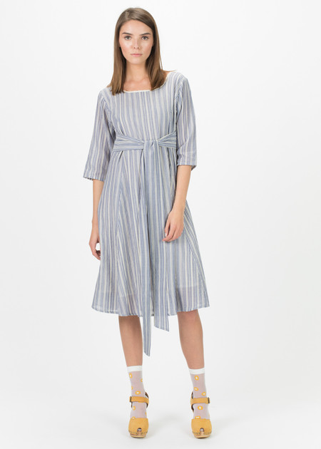 Echappees Belles Barouf Tie Dress
