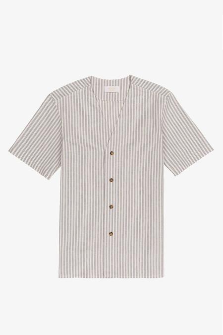 Aimé Leon Dore Pool Shirt | Pinstripe
