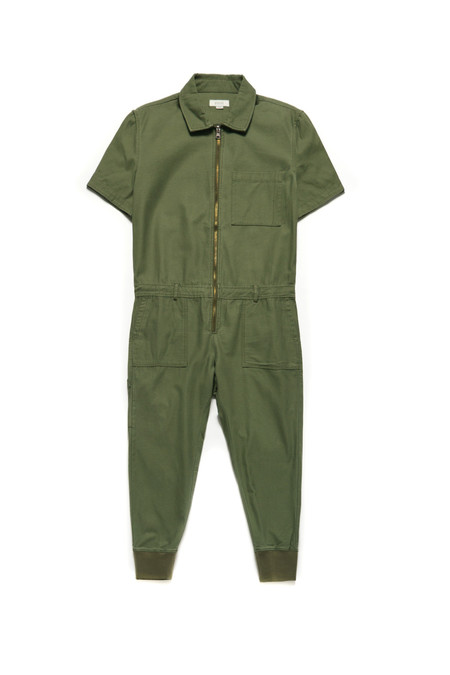 Wonders Washed Military Coveralls