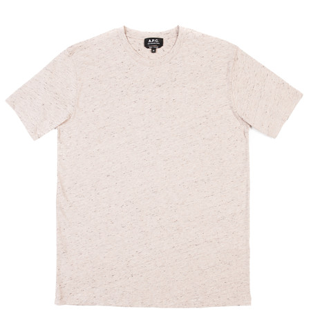 A.P.C. T-Shirt Jimmy - Beige Rose