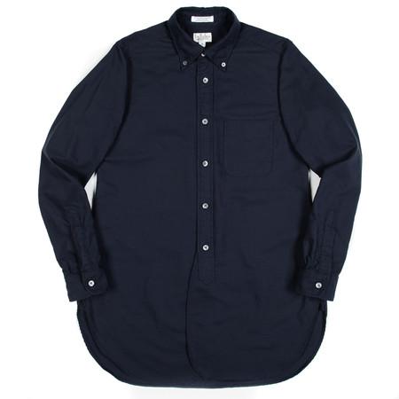 Engineered Garments FWK 19th Century BD Shirt - Navy Cotton Oxford