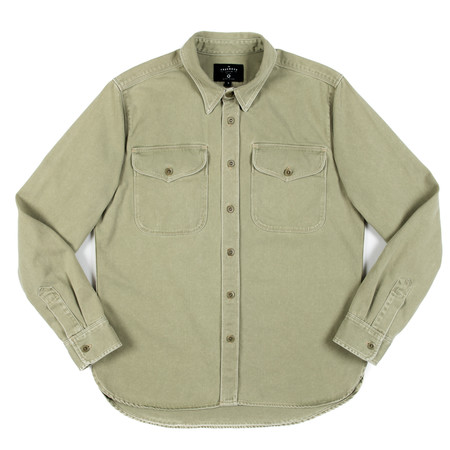 Freenote Cloth Freenote Utility Shirt - Army Green