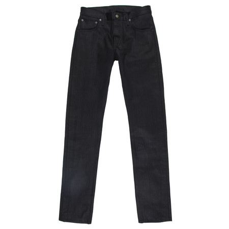 Left Field NYC Charles Atlas Jeans - 14.5 ounce Collect Mills Black Maria Denim