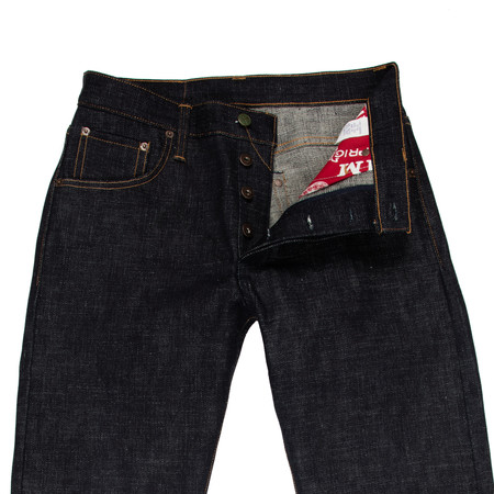 Left Field NYC 18 oz Heavy Slub Chelsea Jeans - Collect Mills