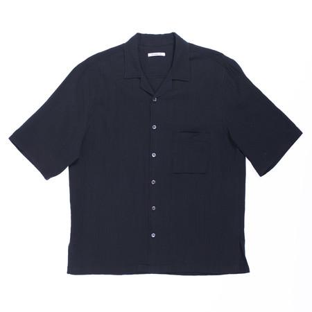 s.k. manor hill Aloha Shirt - Black Organic Cotton