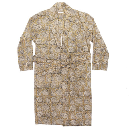 s.k. manor hill Dynasty Robe - Floral Print